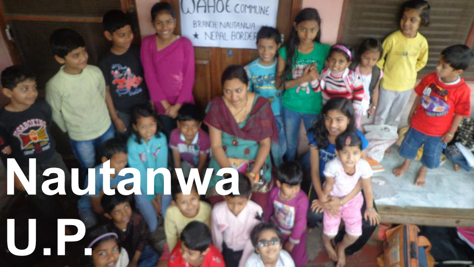 Wahoe Commune Nepalese School Nautanwa Border of Nepal