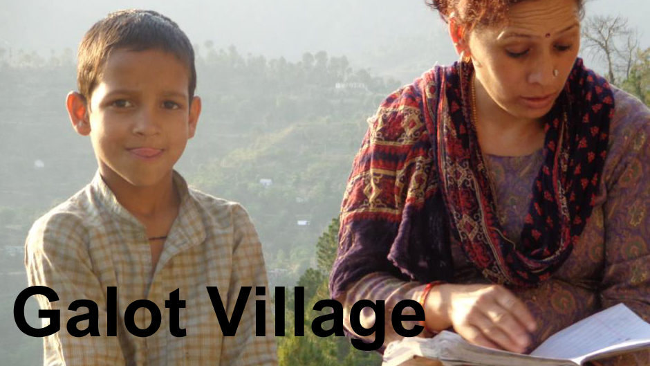 Wahoe Commune School Project Village Galot Close to Shimla